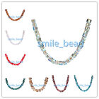 DIY Jewelry Making Findings Cube Square Loose Glass Beads Free Shipping 6mm