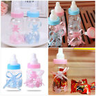 12pcs Baby Candy Bottle Box Shower Baptism Christening Birthday Gift Party Favor