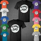 Father's Day Thing Mom Dad Dr Seuss thing 1 Family Christmas gift t shirt tank