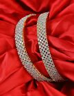 44 Indian Bollywood Bangles Bridal CZ Stone Party Wear Fashion Bracelets Jewelry