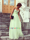 Bridal Bridesmaid Dress Party Prom Formal Dress UK Size 4-6-8-10-12-14-16-18-20