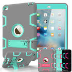 Shockproof Heavy Duty Rubber Hard Kickstand Case Cover for iPad air 2 ipad Mini
