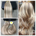 BALAYAGE OMBRE CLIP IN REMY HUMAN HAIR EXTENSIONS GOLDEN BLONDE NEW HOT HAIR