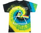 PINK FLOYD T-SHIRT DARK SIDE OF THE MOON CLASSIC TIE DYE BEST Adult SIzes S-5XL image