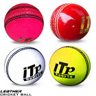 Leather Cricket Ball Hard Balls Match Quality Size 4.75 & 5.5 OZ MENS,LADIES