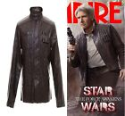 Star Wars the Force Awakens Han Solo Jacket Giacca Cosplay Costume Halloween