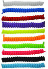 Curly Elastic Shoelaces No Tie Shoe Laces Elasticated Lace