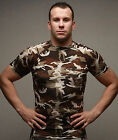 New Men's Compression Under Base Layer Top Tight Short Sleeve 63-Militray