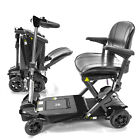 TRANSFORMER Automatic Foldable Electric Mobility Scooter S3021 Black Color