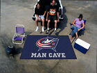 Columbus Blue Jackets Man Cave Area Rug Choose from 4 Sizes