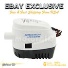 12V+Automatic+Submersible+Boat+Bilge+Water+Pump+750GPH+Auto+With+Float+Switch