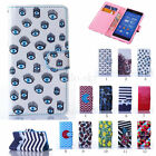 New Pattern Stand Flip Card Wallet Leather Case Cover For Sony Xperia Z3/T3 M50W