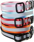 USA SELLER Dog Pet Puppy Collar Reflective Safe Nylon For Small & Big Large Dogs