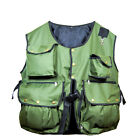New Falconry and Hunting Waistcoat, Vest Olive Green, (All Sizes) Fully Adjust