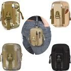 Black Tactical Fanny Waist Pack Bum Bag Belt Bag Phone Pouch For Molle System