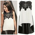 Summer Fashion Women's Sleeveless Chiffon Casual Loose T-Shirt Tops Vest Blouse