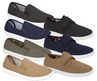MEN'S COMFORT CANVAS LEISURE DECK SHOES SIZES 6-12