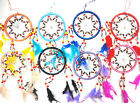 "5"" Dream Catcher Native Indian American Style  Window Bed Nightmares Suncatchers"