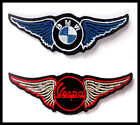 Patch toppa BMW VESPA sport auto moto car scooter Iron sticker jacket motorcycle