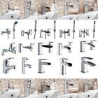 Single lever modern mixer taps bath filler basin mono shower cube waterfall sink