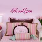 Child's Name ONE NAME Wall Decal Personalized Baby Nursery Kids Room Decor