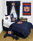 Auburn Tigers Bed in a Bag Comforter Set Twin to Queen Size LR