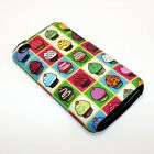 For Apple iPod Touch 4th Gen Hybrid 2-in-1 Cover Case Mini Cupcakes