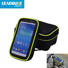 WOSAWE Bicycle Saddle Bag Touch Screen Cell Phone Package Frame Front Tube Bag