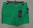 Women's Casual Shorts with Designer Accents STRETCH Colored Shorts CHOOSE SIZE