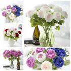 Artificial Fake Peony Silk Flower Bridal Hydrangea Wedding Home Garden Decor