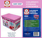 Global Decor Toy-Stor Cake Shop Children's Storage Container