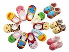 Slippers Sock Baby Boys & Girls Anti Slip Toddler Grip Animal Clothes Accessory