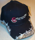 Cockshutt Logo Embroidered Barbed Wire Solid Hat (2 types)