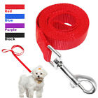 48'' Nylon Pet Dog Lead Leash Durable for Small Dogs Walking 4 Sizes 4 Colors