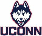 Uconn Huskies  5 Year Outdoor Vinyl Decal Sticker 4  Sizes To Choose From Color