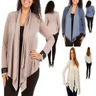 B13 New Ladies Long Sleeves Knit Stretch Cardigan Shrug Tops Jackets Plus Size