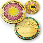 24, 48, 72 Or 100 Finds In 24 Hours Geocaching Achievement Geocoin And Pin Set