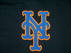 METS NEW YORK MLB CITI FIELD MENS VARIOUS SIZE EMBROIDERED T SHIRTS BLACK BLUE