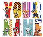 PAW PATROL LETTER NAME IRON ON TSHIRT TRANSFERS PERSONALISED  LOT PT