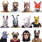 Zootopia Bunny Cattle Fox Pigeon Dog Mask Halloween Dress Masquerade Costume