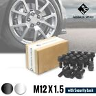 MISSION SPEED M12X1.5 SECURITY WHEEL BOLT LOCK LUGS NUTS 20PCS KIT SET 2 COLORS