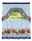 Fiji Apples Kitchen Curtain Tier & Swag Set by GoodGram - Assorted Sizes