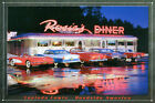 Rosie's Diner Lucinda Lewis Metal Decorative Plaque