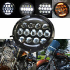 78W Round 7 inch  LED Headlight H/L for Haley Davidson motorcycle Daymaker Style