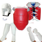 Внешний вид - NEW 7PC Taekwondo Sparring Gear Set Full Karate Protectors Guards Basic set