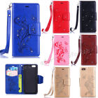 Fashion Flip Pattern Hybrid Stand PU Leather Cover TPU Case Wallet For Phone ZHD