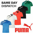New Puma Team Wear Spirit Polo Mens Training Fashion Casual Football T-shirts