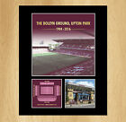 West Ham United Upton Park Boleyn Ground Mounted Photo Display Collectable