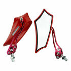 2X  Universal Motorcycle Motorbike Scooter Bike 8 / 10mm Rear View Side Mirrors