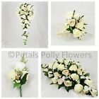 Wedding Flowers by Petals Polly, BRIDES BOUQUET, BRIDESMAIDS POSY, BUTTONHOLES